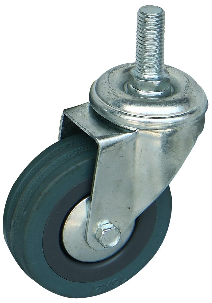 橡胶万向轮图片/橡胶万向轮样板图 (2)