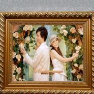 广州实木相框图片