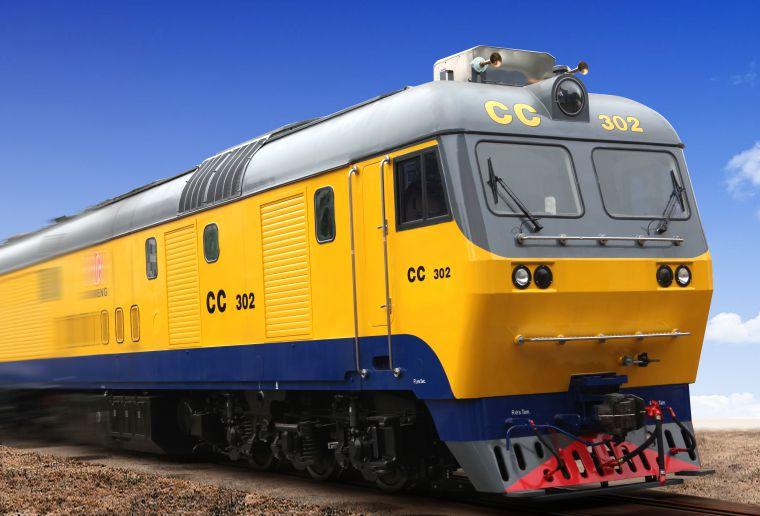供应土库斯坦曼CKD9A型机车配