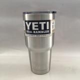 不锈钢汽车杯保温杯 YETI30oz汽车杯 纯色简约双层不锈钢保温杯子