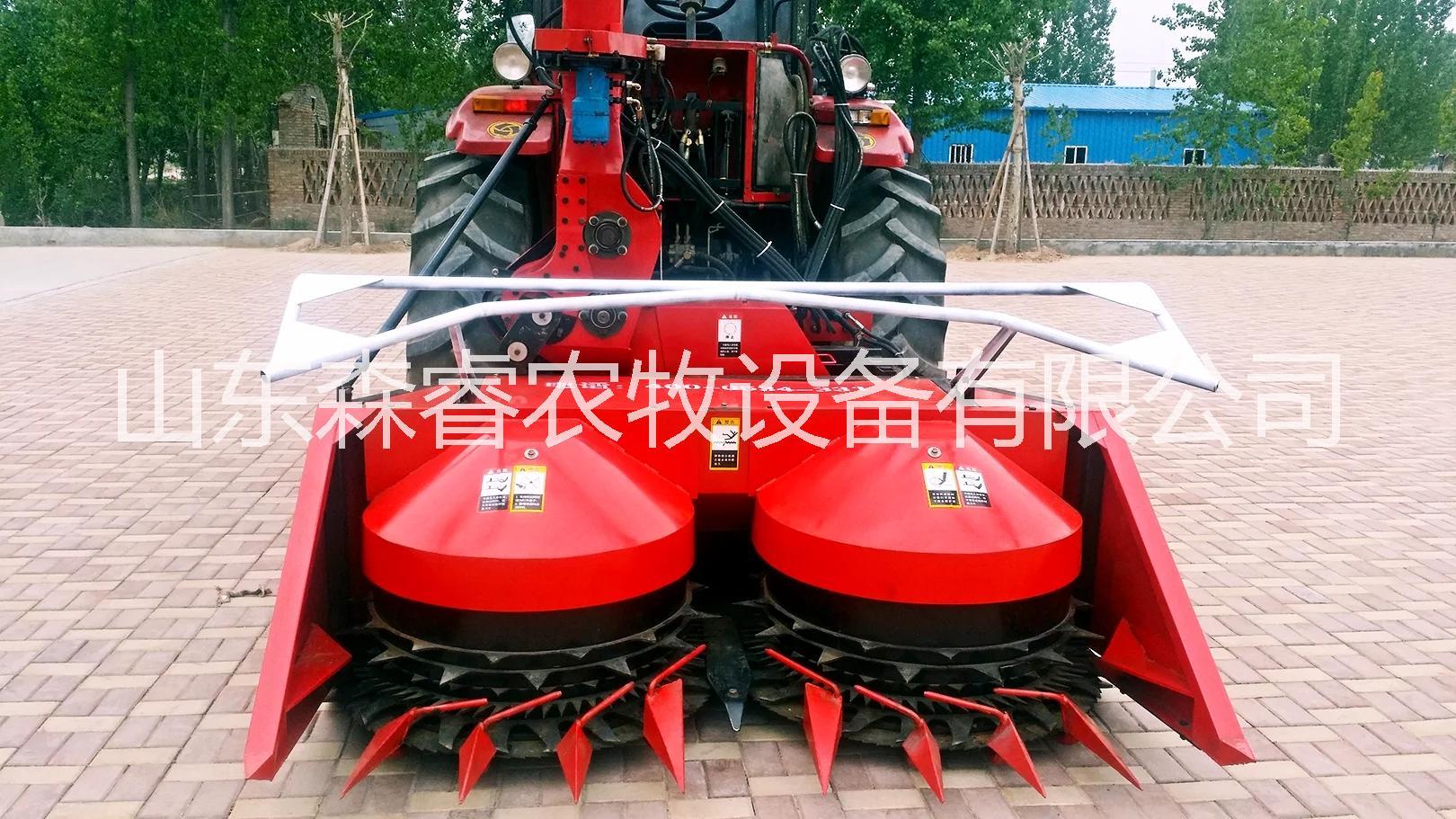 鲁德农-1800型青贮秸秆收获机 青贮机 秸秆收割粉碎收集机械