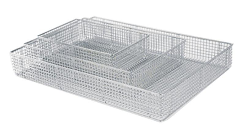 不锈钢点焊筐 医用网筐 清洗筐 器械网筐批发价格