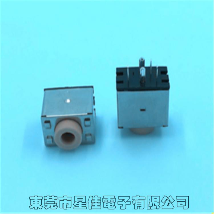 厂家供应 高品质耳机插座 pj-378g 3.5音频插口 耐高温耳机插座
