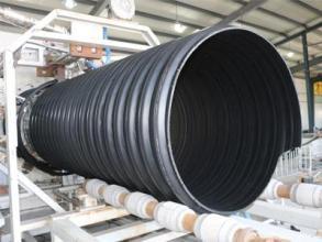威海荣成大口径HDPE钢带波纹管图片/威海荣成大口径HDPE钢带波纹管样板图 (2)