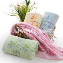 高陽廠家直銷提花風車吸水洗臉毛巾圖片