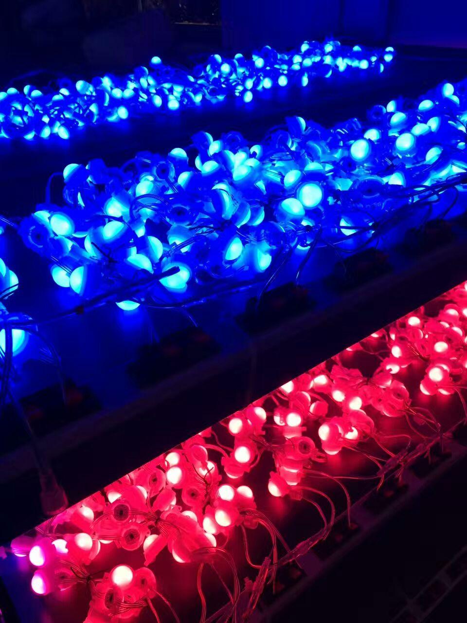 供应建筑轮廓亮化 LED幻彩点光源 酒店亮化LED幻彩点光源