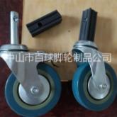 厂家直销餐车轮推车轮、灰胶餐车轮、推车轮价格、餐车轮价格