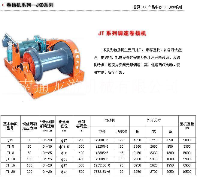 供应jk系列电动卷扬机