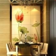 家具玻璃印花机 ,钢化玻璃彩绘图片