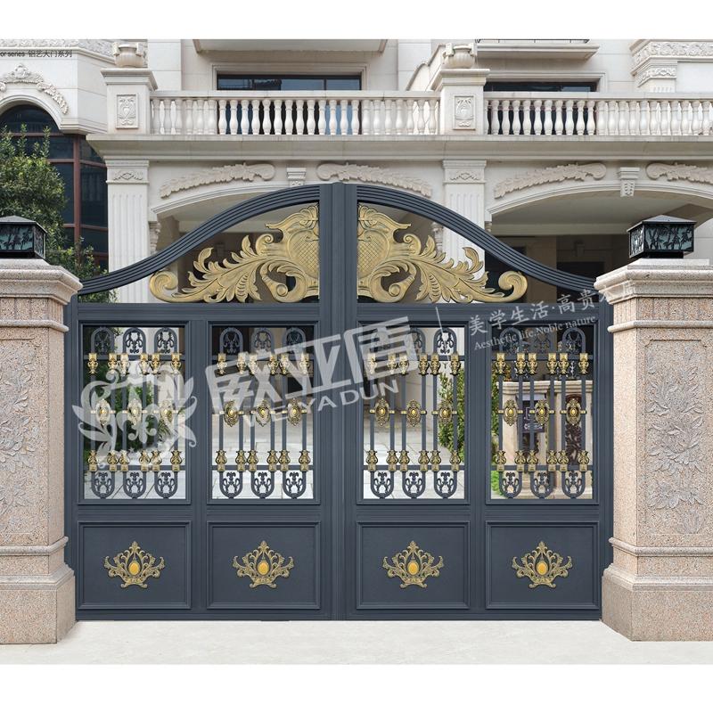 商铺首页 产品展示 > 南昌市厂家直销威亚盾铝艺庭院门7~9|厂家直销