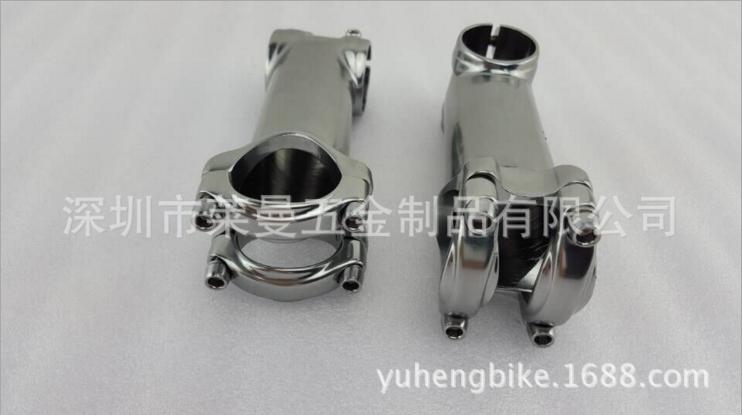 立管生产厂家、高品质超轻亮面钛色把立管、钛色把立管生产直销