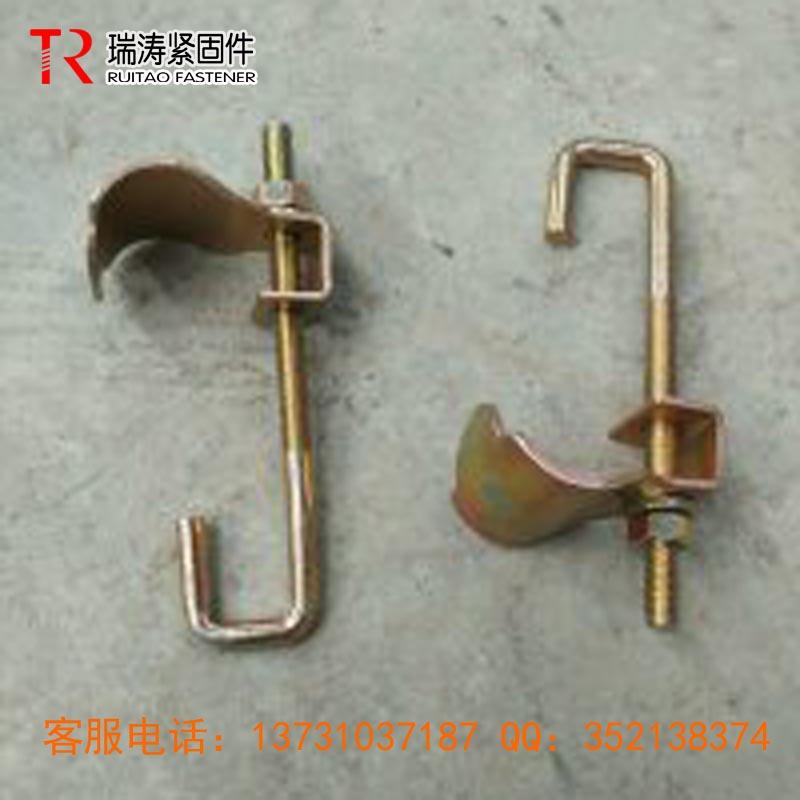 瑞涛紧固件直销英式冲压固梯扣件610-630G 48.3mm建筑脚手架扣件现货供应质优价廉