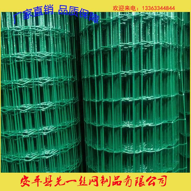 浸塑荷兰网 养殖包塑铁网荷兰网 圈地铁丝网围栏护栏网