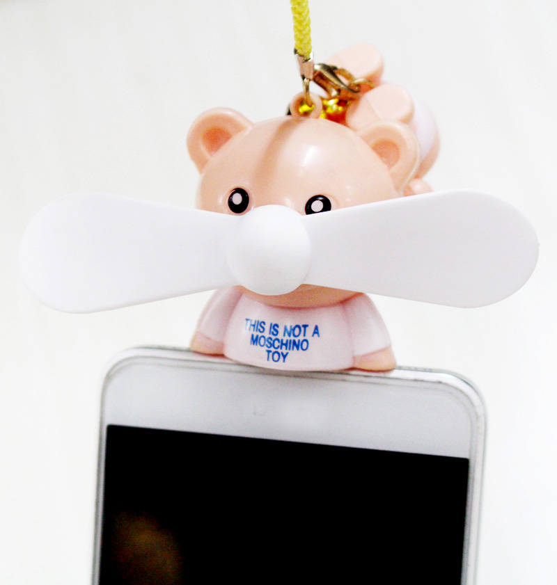 奋骏 手机风扇 迷你卡通usb小风扇插手机风扇安卓苹果便携式 礼品 奋骏 手机风扇 迷你卡通风扇