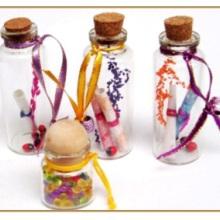 供应许愿瓶厂家直销 许愿瓶广东厂家直销饰品玻璃瓶批发图片