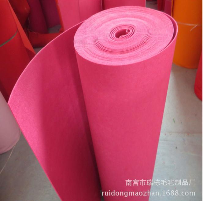 化纤混纺毛毡布