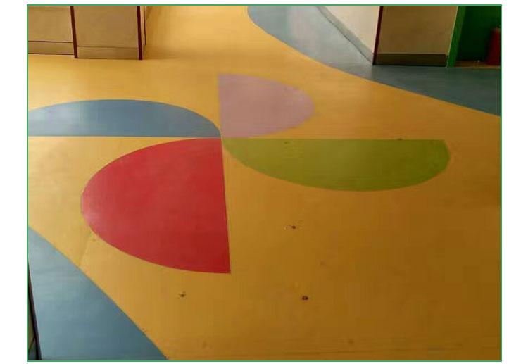 米澳晨 幼儿园pvc地板 幼儿园塑胶 幼儿园专用地板 拼花地板 pvc卷材
