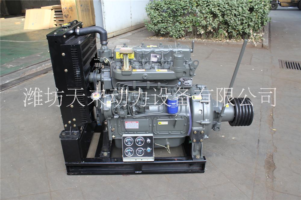 潍坊产4100P系列柴油发动机ZH4100G厂家直销