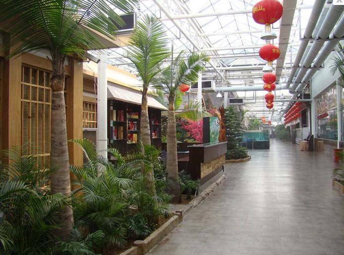 承接长春吉林四平通化辽源温室大棚花卉大棚日光温室大棚生态餐厅