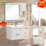 晋江地区洗衣柜盆单位 橡木浴室柜组合现代简约柜