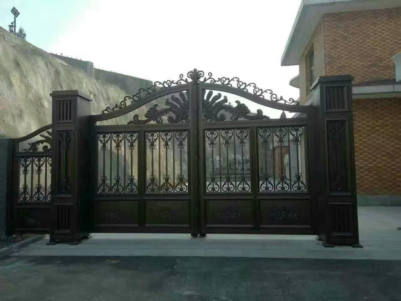 古典欧式商铺大门