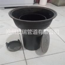 铸铁排水管件 友瑞牌铸铁深水封地漏50型,DN50三件套深水封地漏批发