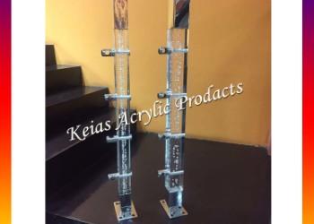 水晶楼梯 立柱配件图片