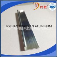 小收边UV卡板铝合金装饰条工厂 L小收边UV卡板铝合金装饰条工厂批发