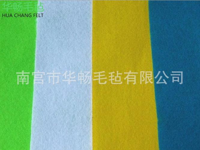 化纤毛毡加厚工业毛毡布加工定制