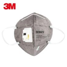 3M 9041V防护口罩 带阀防异味口罩 防尘口罩