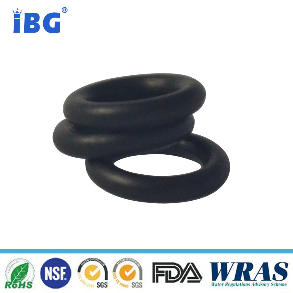 黑色丁腈橡胶O型圈      耐油耐液压油橡胶O型圈 厂家丁腈黑色橡胶O型圈