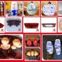 中式现代简约 订制室内陶瓷卧室床图片