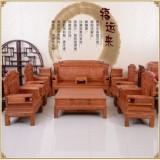 缅甸花梨木沙发东阳红木家具