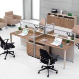 屏风办公桌 桌子 办公桌 屏风桌