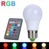 RGB七彩球泡灯