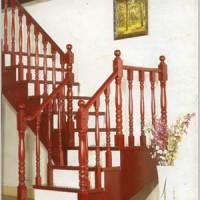 湖北武汉福森实木楼梯整梯楼梯扶手玻璃及高分子