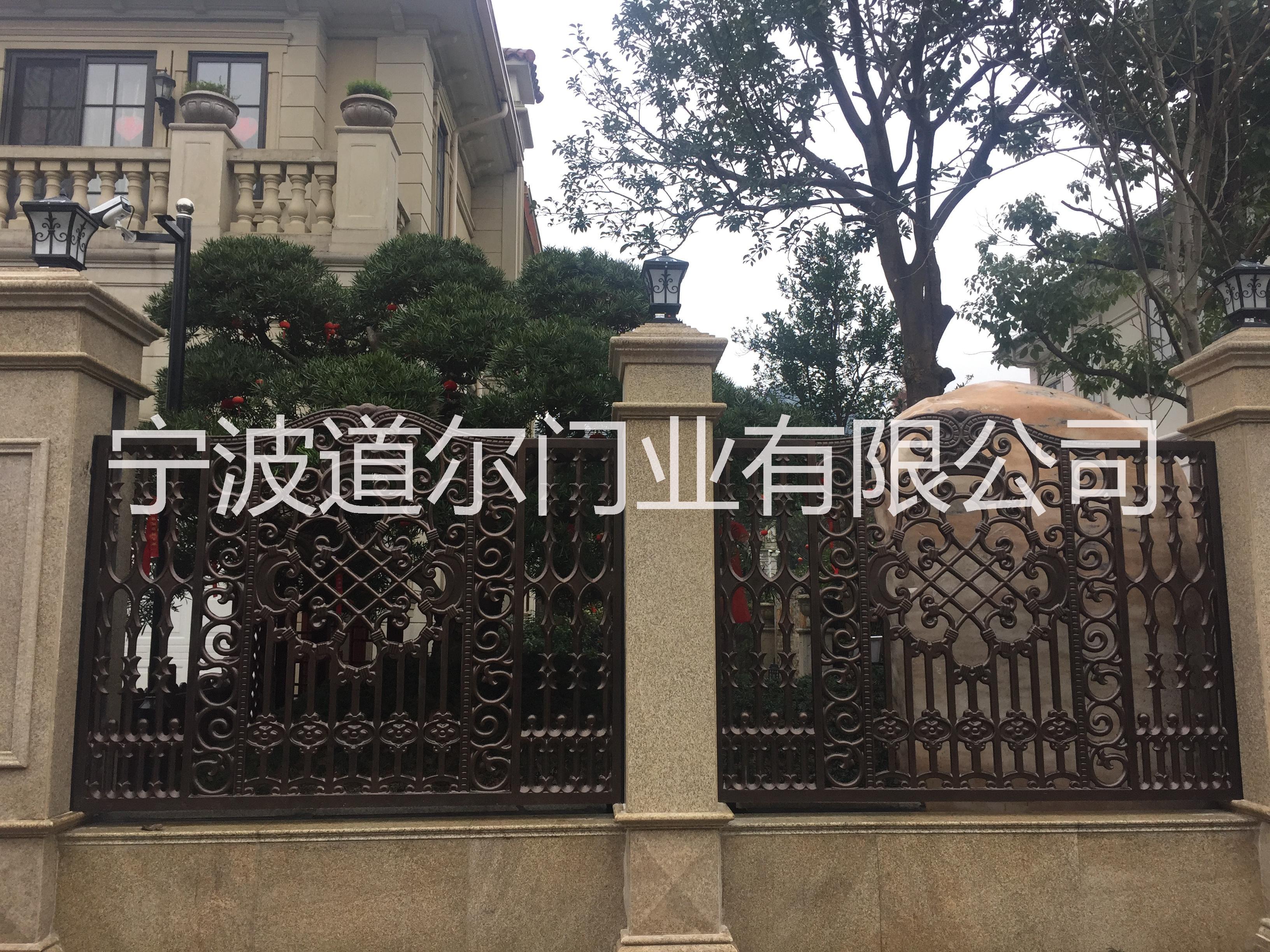 铝艺别墅庭院门栏报价厂家 宁波铸铝围栏报价厂家