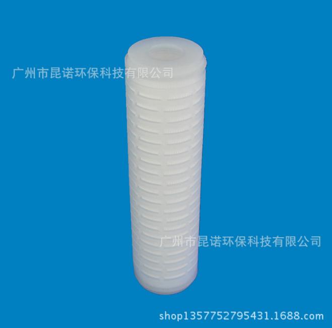 10寸聚丙烯折叠式滤芯 呼吸机过滤芯 过滤器滤芯可定做