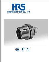 广濑航空插头HR10-7R-4SA(73现货 HRS连接器北京代理优质料供应Hirose接插件