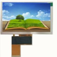工业LCD液晶屏  5寸显示屏 800*480液晶模块 模组