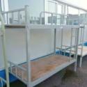 供应豪华双层铁床 学校公寓床 员图片
