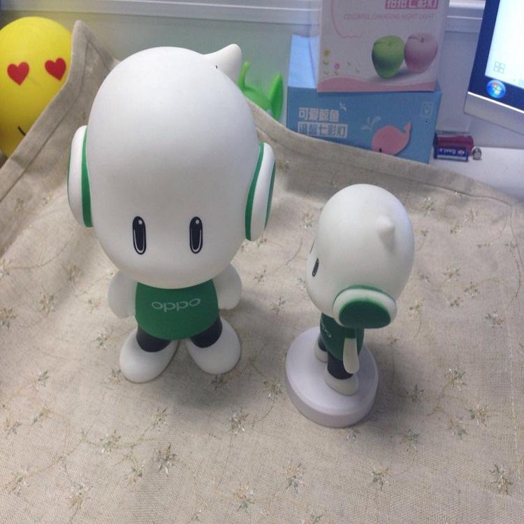 小欧搪胶公仔存钱罐 创意礼品儿童玩具摆件 促销礼品赠送品