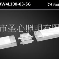 铝材LED办公室吊线灯简约现代可拼接办公照明线条灯吊灯灯具厂家
