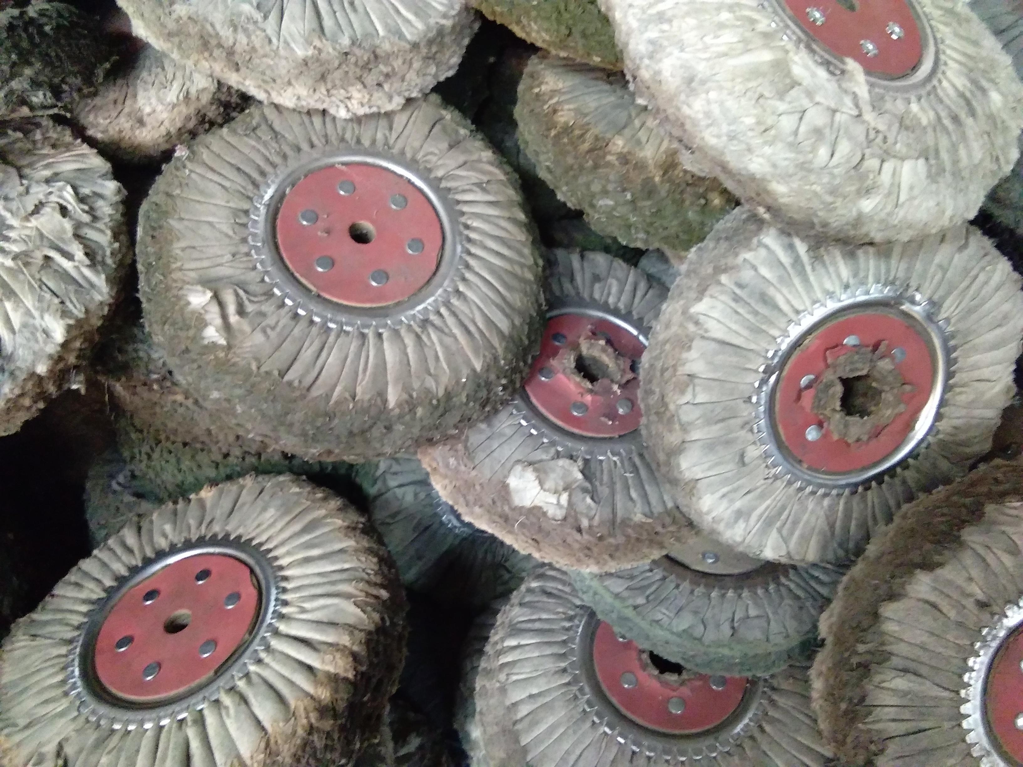 回收二手废旧抛光材料,旧麻轮,旧尼龙轮,旧布轮 回收二手抛光材料,旧尼龙轮