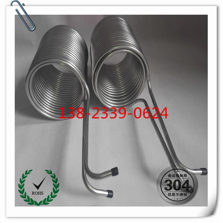双盘管,双层盘管,内外双层盘管  深圳不锈钢双层盘管