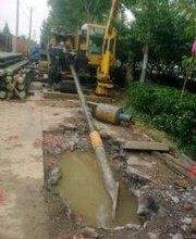 北京顺义区马路拉管施工管线过马路