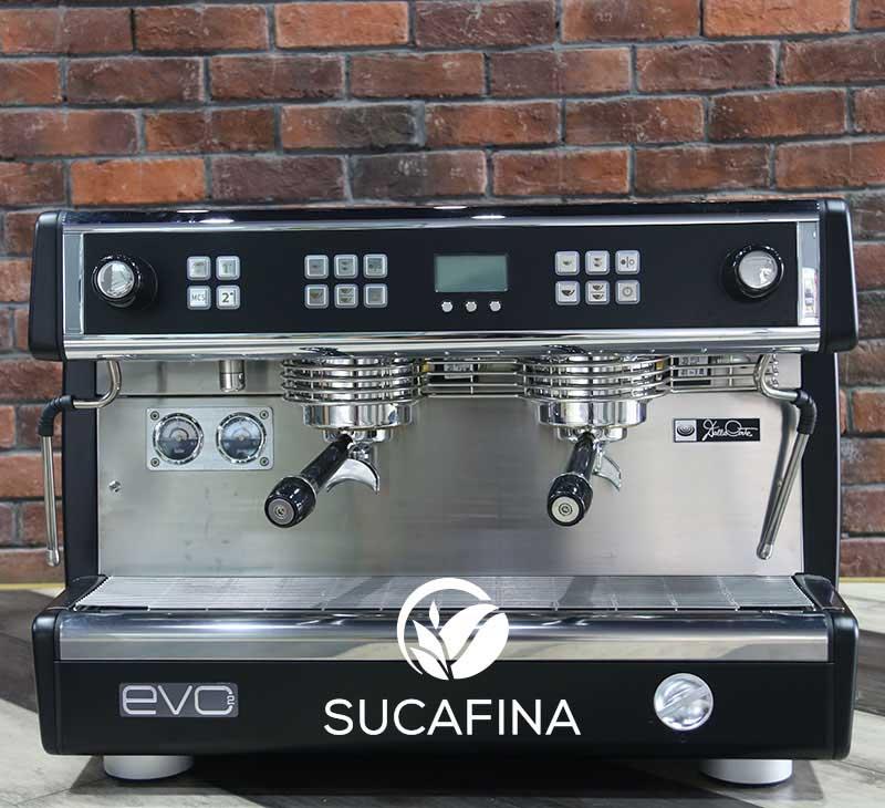 EVO2半自动咖啡机 Dalla Corte半自动咖啡机商用双头 多锅炉系统85度C用进口