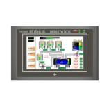深圳中达优控 可编程4.3寸触摸屏PLC一体机