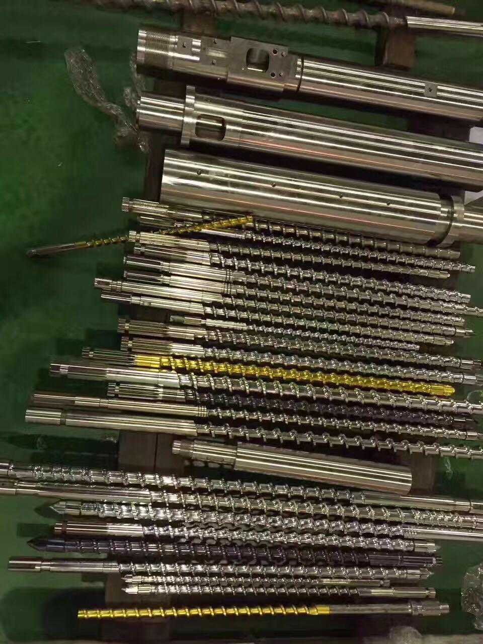 注塑机料筒螺杆加工注塑机料筒螺杆订做、