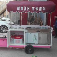 北京流动冒烟冰淇淋炒酸奶组合车会跳舞饮料18001126103